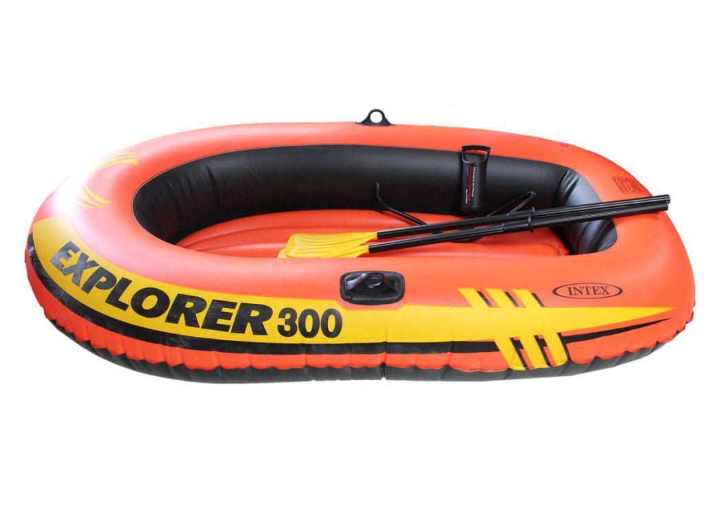 насос для лодки intex и весла